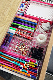 Dorm Room Hacks and Tips - Line Your Drawers with Scrapbook Paper to make  things bright