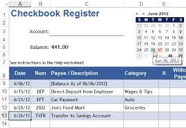 Check Register App Mini Calendar And Date Picker App For Excel
