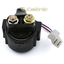 starter relay solenoid fits yamaha big bear 350 yfm350 1987 1999 starter relay solenoid fits yamaha big bear 350 yfm350 1987 1999 atv new