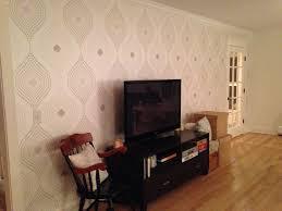Wallpapering For A Living Room Testimonials Walls Republic