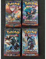 Sun & Moon Burning Shadows booster pack - LegendaryCards.eu