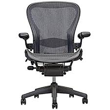 miller office chair. Herman Miller Aeron Executive Office Chair-Size B-Fully Adjustable Arms-lumbar Support Chair R