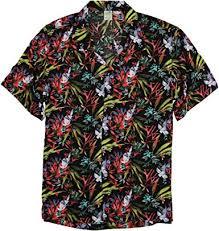 Mens Short Sleeve Aloha Oversize Print <b>Pattern Fashion</b> Button ...