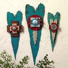 on vintage metal art wall decor with corazon metal art hearts