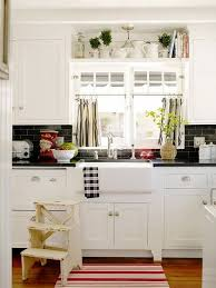 black and white color theme works not only with modern interiors but with farmhouse like