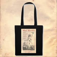 Mad By Design Bags Mad Martins Front Cover Design Tote Bag Mad Martins