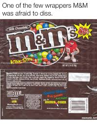 diss facts and protein one of the few wrappers m m was afraid to