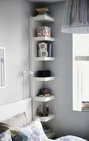 bedroom shelf units stainless steel shelving with white