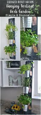 indoor herb garden planters wall