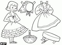 Small Picture Dress Up Coloring Book Coloring Coloring Pages