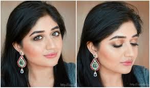 rose gold indian bridal makeup tutorial festive makeup clista you