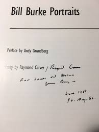 portraits essay by raymond carver inscribed by raymond image description