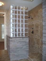 glass block shower 66 best glass blocks bathroom images on