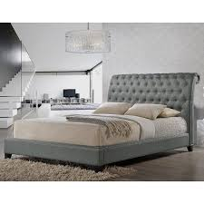 amazoncom baxton studio jazmin tufted modern bed with