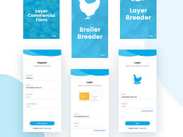 Ui Ux Designer Job Salary In India Poultry Farm App By Axlr Data On Dribbble