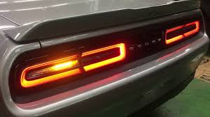 Challenger Sequential Lights 2018y Dodge Challenger Sequential Turn Signal By Ug Japan