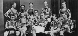 「1872, first in history the football international game between england and scotland」の画像検索結果