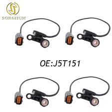 2003 Mazda Protege5 Check Engine Light Us 29 55 15 Off 4pcs J5t151 Engine Crankshaft Position Sensor Cps For Mazda Protege5 626 1 8l 2 0l L4 J005t15171 5s1826 Fsd7 18 221b Su4309 In