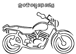 Small Picture Motorcycle Coloring Pages Transportation Coloring pages of