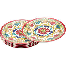 better homes and gardens plates. Delighful Homes Better Homes And Gardens 6 Piece Melamine 105quot Dinner Plates
