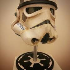 Stormtrooper Helmet Display Stand Our creation display stand for stormtrooper helmet star wars 2