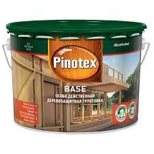 Пропитка <b>Pinotex Base 9 л</b> купить по цене 3679.0 руб. в ОБИ