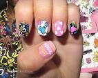 Nail art designs inspired from spring runway