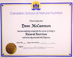 canada s largest and leading of holistic nutrition daves certification
