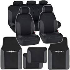 car seat covers floor mats black