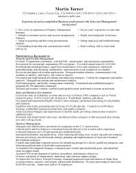 Property Manager Resume Example 9 Property Manager Resume Templates