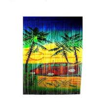 woody car print beaded bamboo curtain on outdoor wall art home depot with mgp outdoor wall decor outdoor decor the home depot