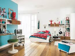 attractive bedroom idea sets with ikea furniture on brown laminate wooden floor