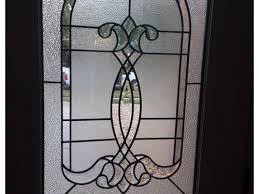 front door glass panel