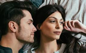 Image result for couple lying in bed pics bank