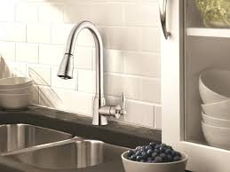 kitchen faucets danze once faucet satin black pull out