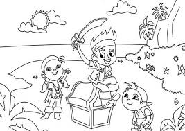 the awesome jake the pirate coloring pages regarding really