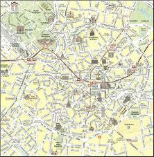 milan map  detailed city and metro maps of milan for download