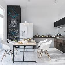 Modern Dining Room With Classic Decor ...