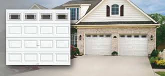 clic collection clic short long and flush panel steel garage doors with or without insulation