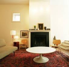 arranging all the furniture in this small living room view in gallery