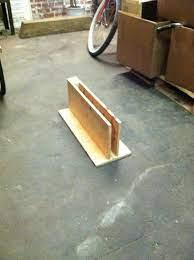 bike stand wooden bike indoor bike rack