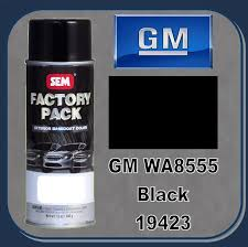 sem factory pack gm wa8555 black 12 oz aerosol