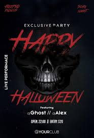 Free Flyer Template Download Halloween Party Flyer Template Free Download 60 Posters