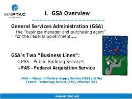 Understanding The Gsa Schedule Program J Kilian 031009