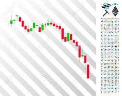 Bitcoin Candlestick Chart Candlestick Chart Down Icon With 7 Hundred Bonus Bitcoin Mining