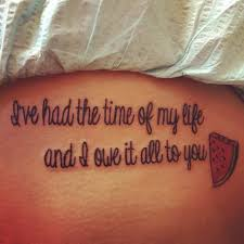 Love Quote Tattoos Adorable 48 Relatable Love Quote Tattoos TattooBlend