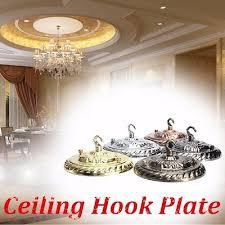 retro ligjting vintage ceiling rose cap hook plate holder edison light fitting chandelier lamp home