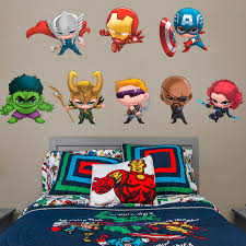 marvel team up collection x large officially licensed removable wall decals fathead wall