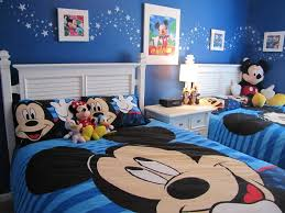 Mickey Mouse Decorations For Bedroom Kids Room Blue Bedroom Interior Design For Kids With Chic Bed