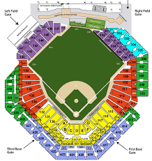 Phillies Field Seating Chart Prosportsdaily Com
